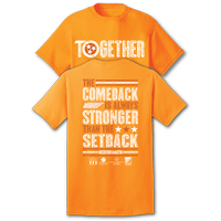 TN Together - #COVIDfeedTN - S/S Orange Tee